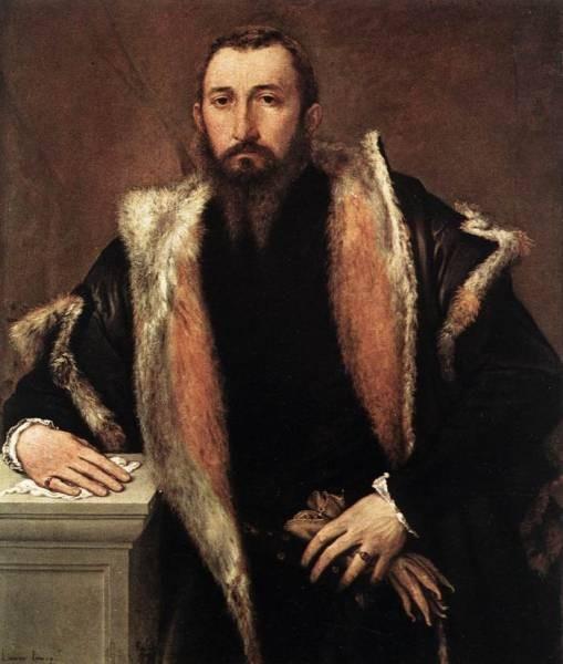 Portrait of Febo da Brescia 1544